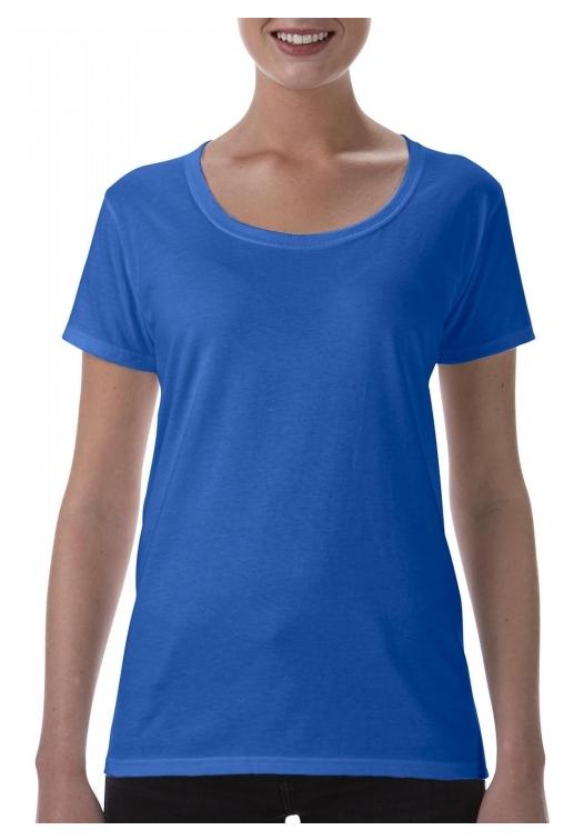 Softstyle Ladies Deep Scoop T-Shirt_royal