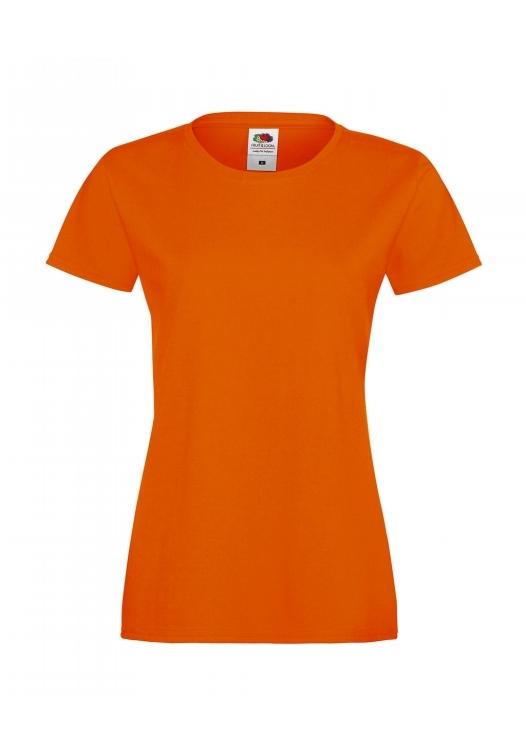 Sofspun T Lady-Fit_orange