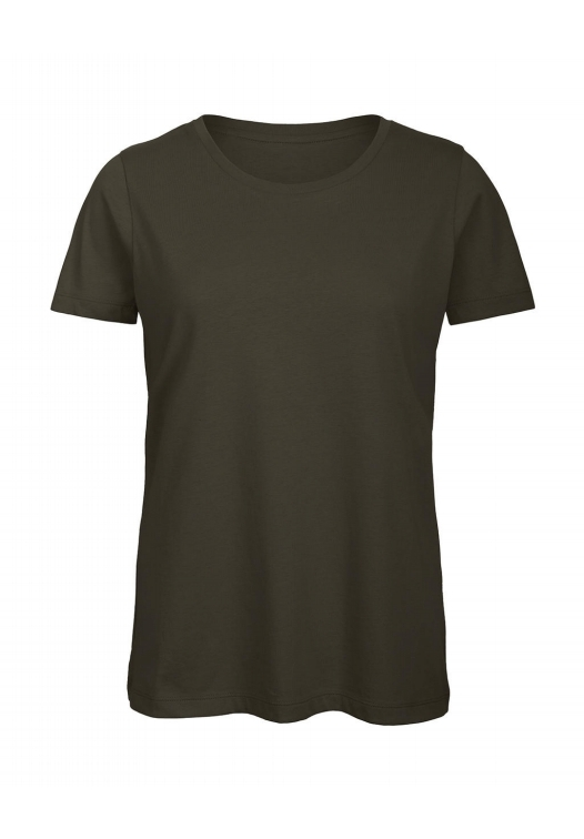 T-Shirt Women – TW043_khaki-green