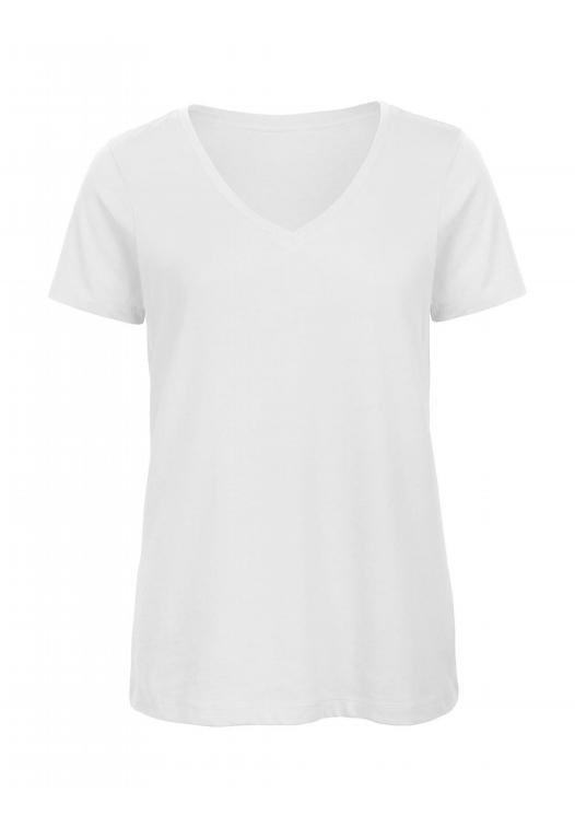 V-Neck T-Shirt Women – TW045_white