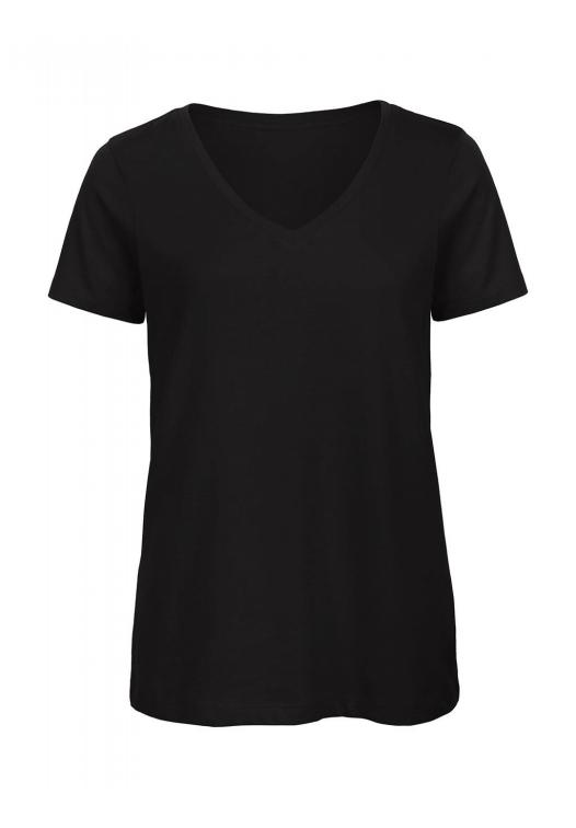 V-Neck T-Shirt Women – TW045_black