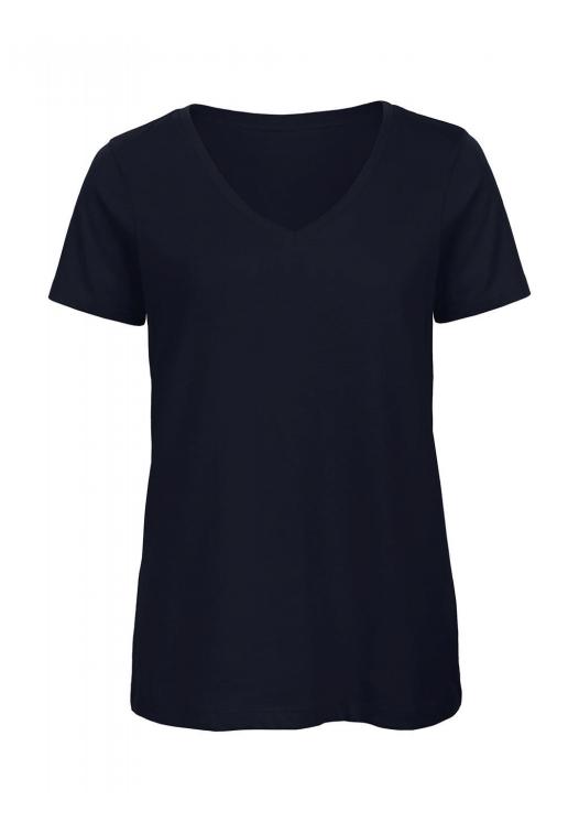 V-Neck T-Shirt Women – TW045_navy