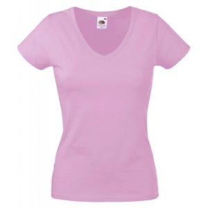 Valueweight V-Neck T Lady-Fit_light-pink