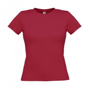 T-Shirt Women-Only_Used-Raspberry