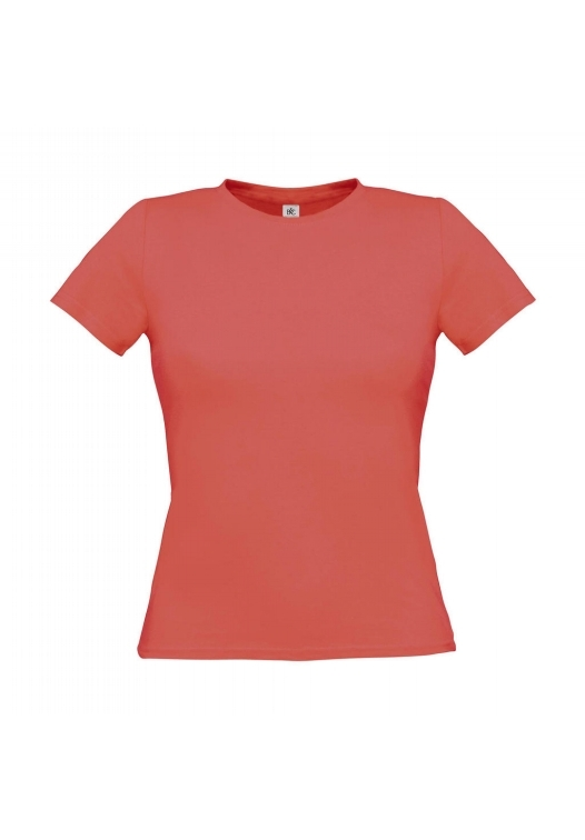 T-Shirt Women-Only_Pixel-Coral