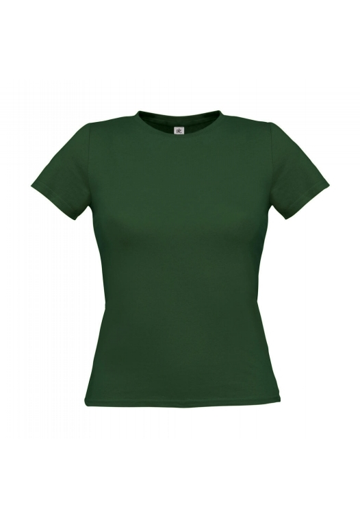 T-Shirt Women-Only_Bottle-Green