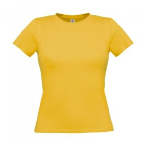 T-Shirt Women-Only_used-Yellow