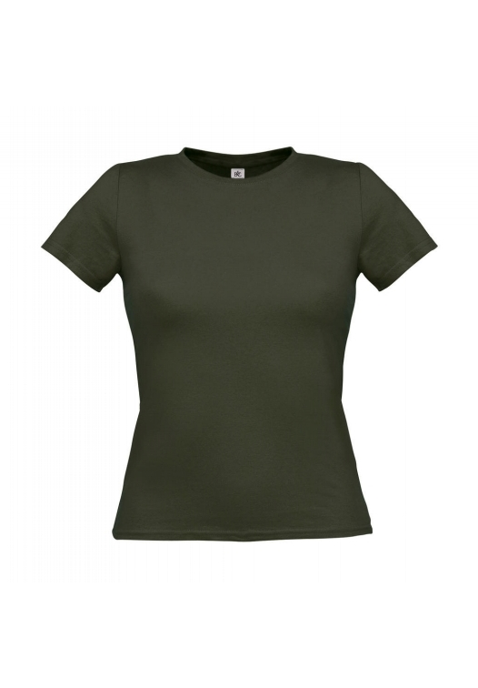 T-Shirt Women-Only_Khaki-Green