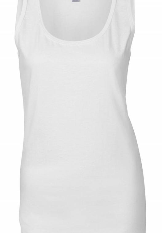Ladies Softstyle Tank Top_white