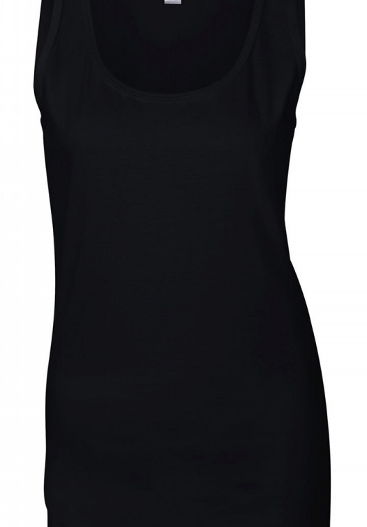 Ladies Softstyle Tank Top_black