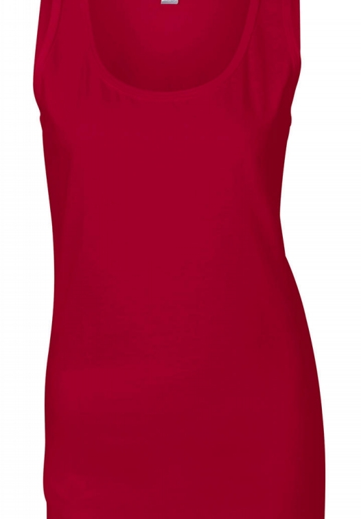 Ladies Softstyle Tank Top_cherry-red