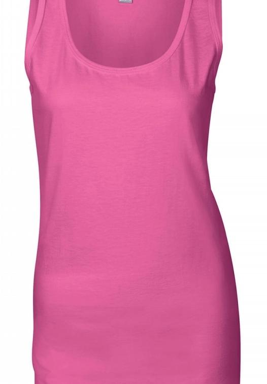 lowest price 0dd90 3ac46 Gildan Damen T-Shirt ärmellos Softstyle®