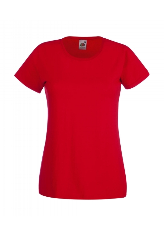 Valueweight T Lady-Fit_red