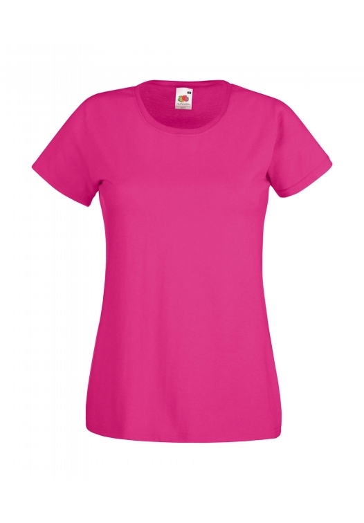Valueweight T Lady-Fit_Fuchsia