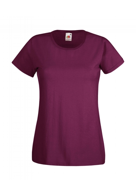 Valueweight T Lady-Fit_burgundy