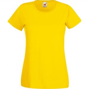 Valueweight T Lady-Fit_yellow