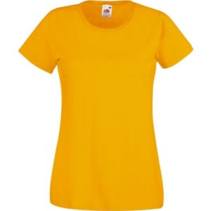 Valueweight T Lady-Fit_sunflower