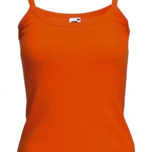 Strap T Lady-Fit_orange