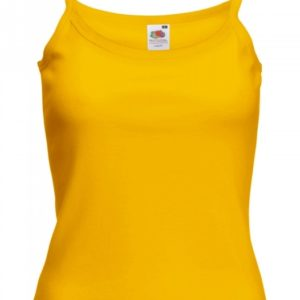 Strap T Lady-Fit_sunflower