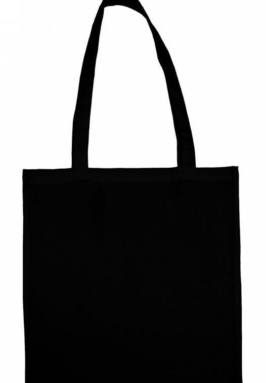 Popular Organic Cotton Shopper LH_black