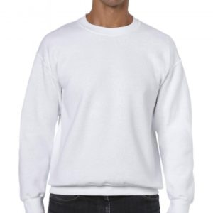 Heavy Blend Crewneck Sweat_white