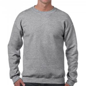 Heavy Blend Crewneck Sweat_Sport-grey