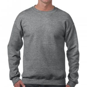 Heavy Blend Crewneck Sweat_graphite-heather