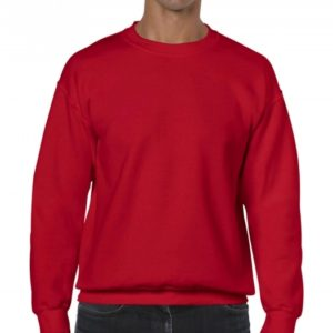 Heavy Blend Crewneck Sweat_red