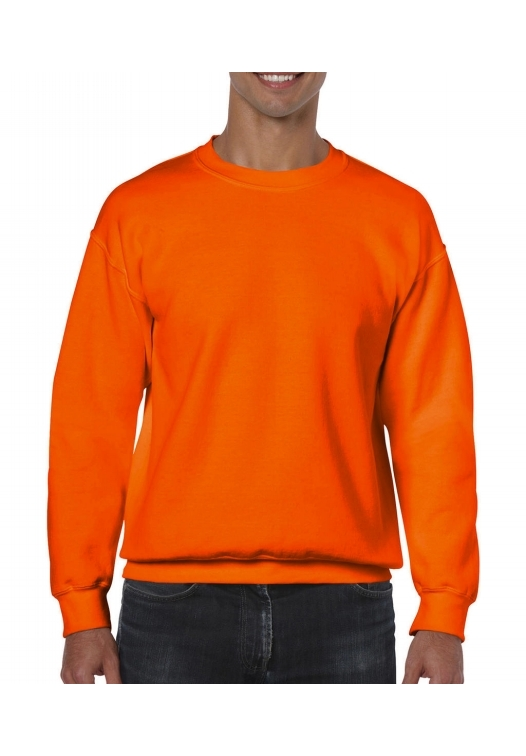Heavy Blend Crewneck Sweat_safety-orange