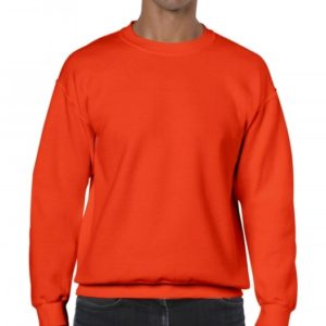 Heavy Blend Crewneck Sweat_orange
