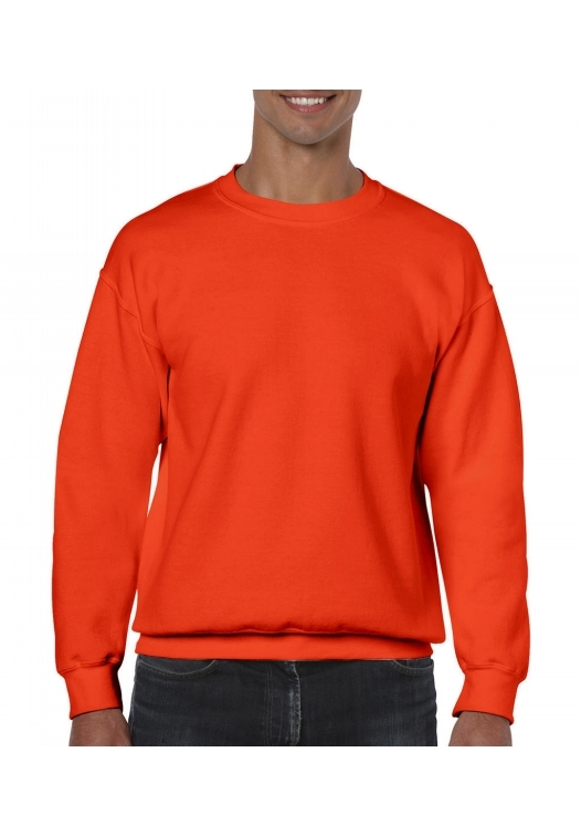 Heavy Blend Crewneck Sweat_orange