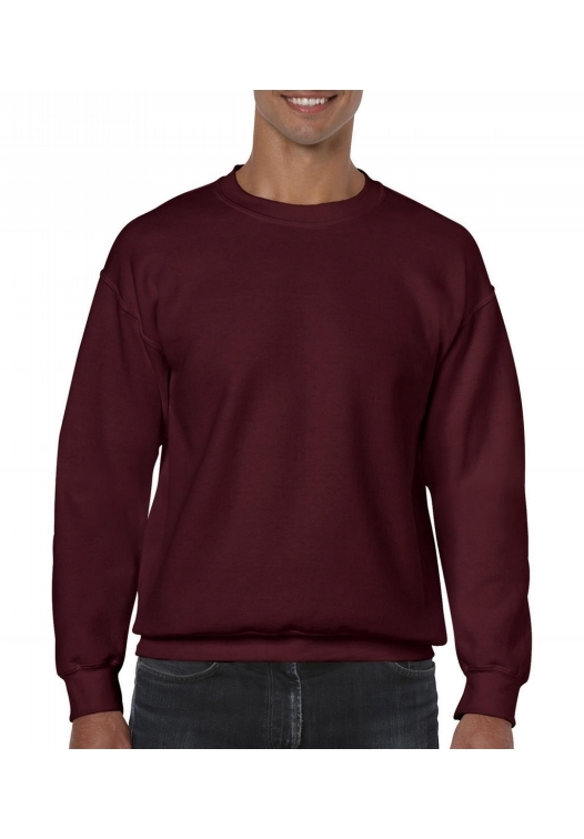 Heavy Blend Crewneck Sweat_maroon