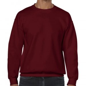 Heavy Blend Crewneck Sweat_garnet