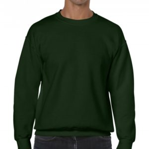 Heavy Blend Crewneck Sweat_forest-green