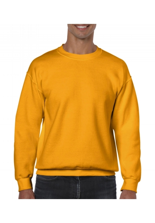 Heavy Blend Crewneck Sweat_gold