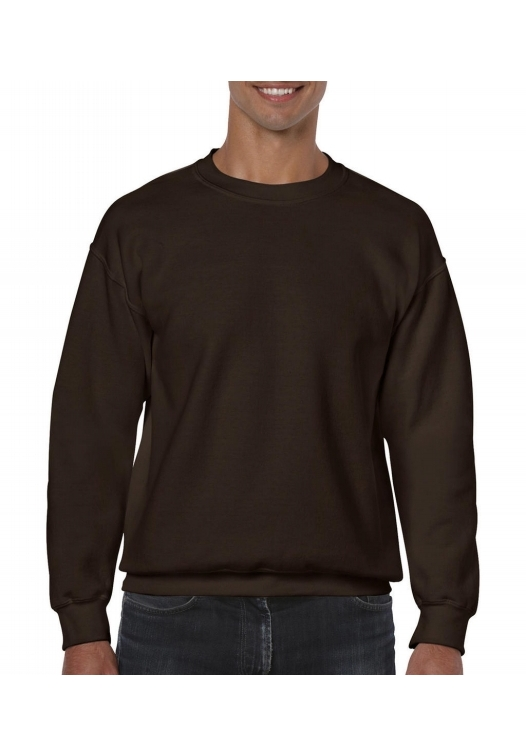 Heavy Blend Crewneck Sweat_dark-chocolate