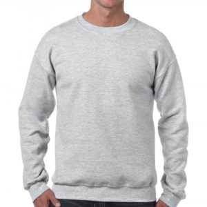 Heavy Blend Crewneck Sweat_Ash