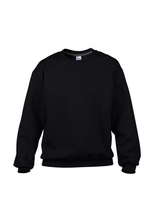 Classic Fit Crewneck Sweatshirt_black