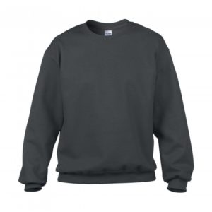 Classic Fit Crewneck Sweatshirt_charcoal