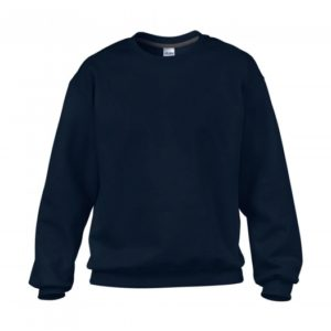 Classic Fit Crewneck Sweatshirt_navy