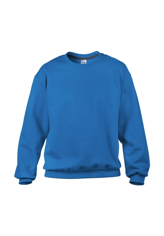 Classic Fit Crewneck Sweatshirt_sapphire