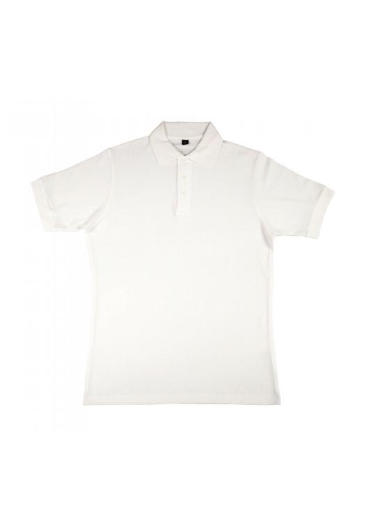 Charlton- Men's Viscose-Cotton Pique-Polo_white