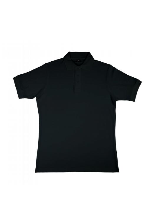 Charlton- Men's Viscose-Cotton Pique-Polo_black
