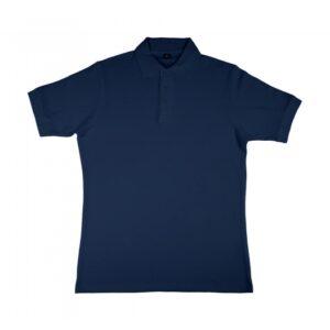 Charlton- Men's Viscose-Cotton Pique-Polo_navy
