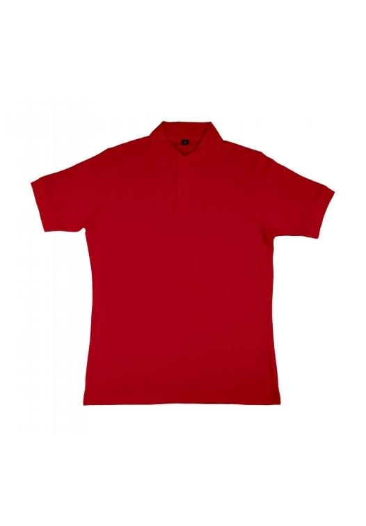 Charlton- Men's Viscose-Cotton Pique-Polo_red