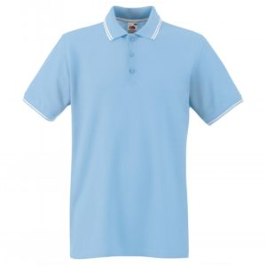 Tipped Polo_sky-blue-white