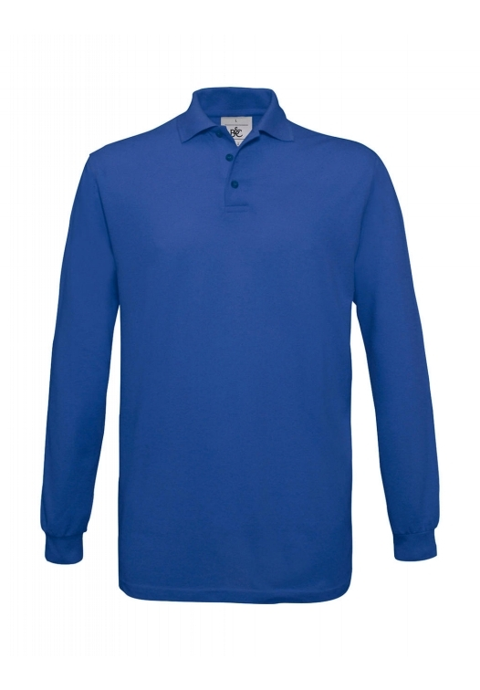Safran Polo Longsleeve PU414_royal