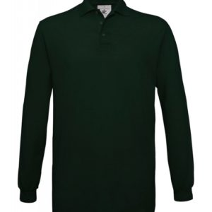 Safran Polo Longsleeve PU414_bottle-green