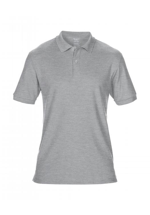 DryBlend Double Piqué Polo_sport-grey