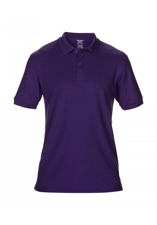 DryBlend Double Piqué Polo_purple